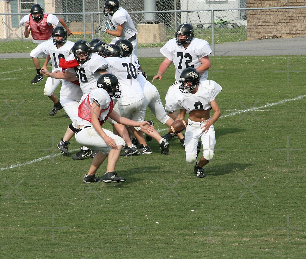 Crossville Lions Football by connie campbell