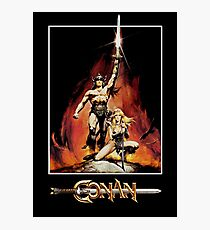 Conan The Barbarian Photographic Print