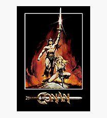 Conan der Barbar Fotodruck