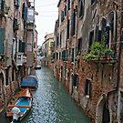 Venice Waterways  by Judy Ann  Grant