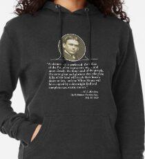H. L. Mencken's Greatest Quote Lightweight Hoodie