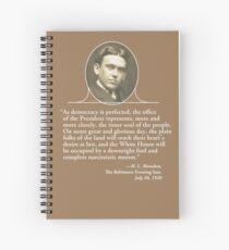 H. L. Mencken's Greatest Quote Spiral Notebook