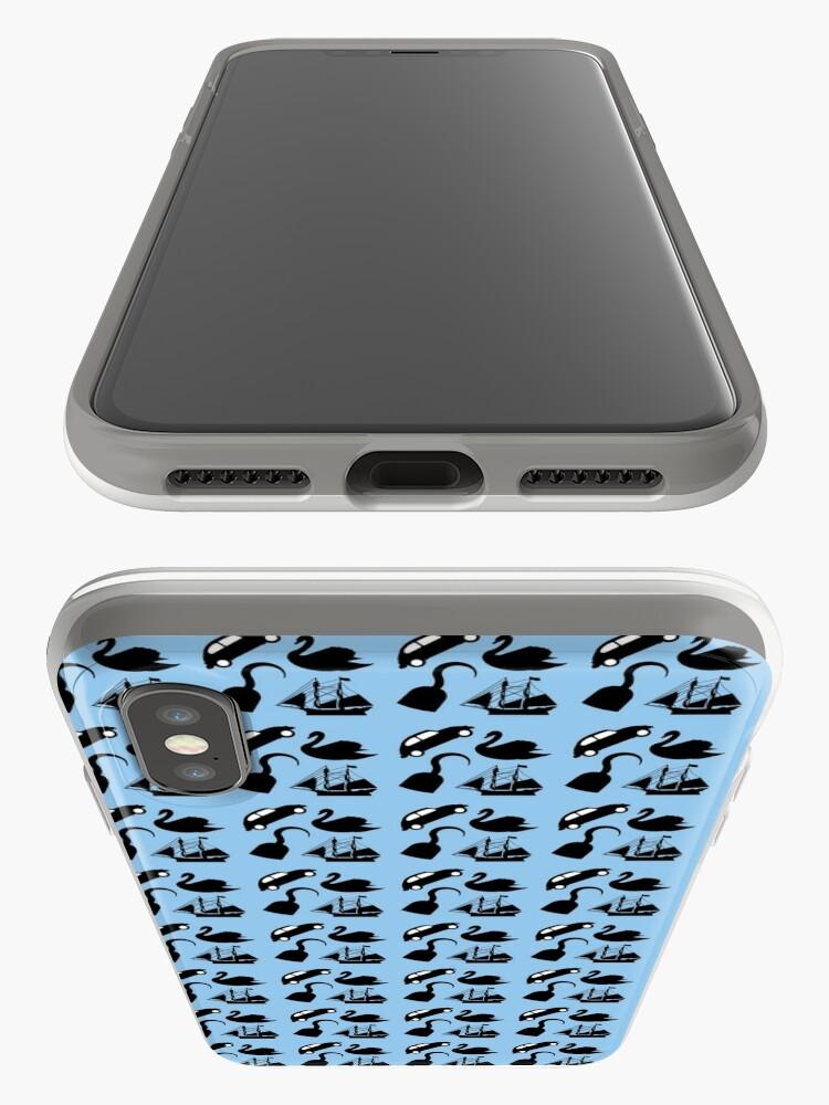Alternate view of Captain Swan Symbols iPhone Case & Cover