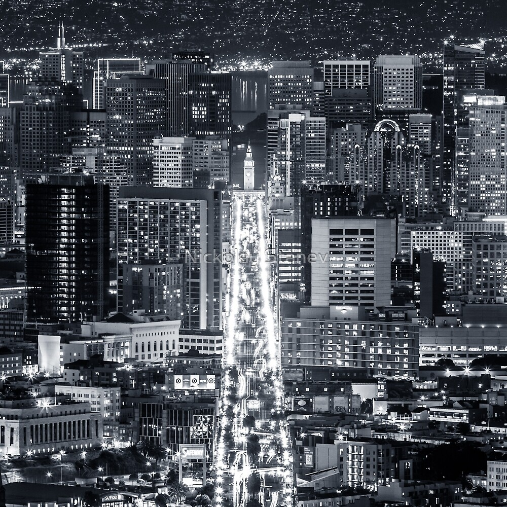 San Francisco Downtown by Nickolay Stanev