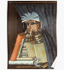 The Librarian by Guiseppe Arcimboldo, 1562 Poster