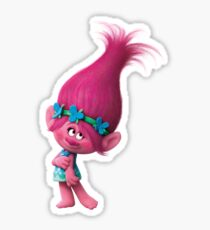 Poppy from Dreamwork's Trolls 3 Sticker
