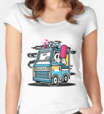 Killer Ice Cream Truck Women's Fitted Scoop T-Shirt