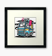 Killer Ice Cream Truck Framed Print