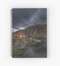 Fishing Village Spiral Notebook