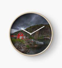 Fishing Village Clock