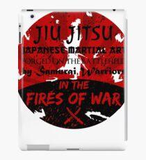 Jiu-Jitsu Fires of War iPad Case/Skin
