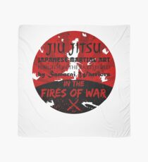 Jiu-Jitsu Fires of War Scarf