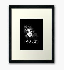 Barrett. The legend. Framed Print