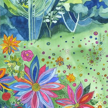 Fantasy Wildflower Woodland by esvb