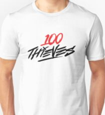 #100Thieves RED T-Shirt