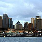 Eine Ansicht von Sydney von Evita