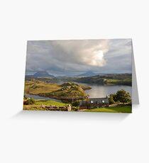 Kinlochbervie and Badcall Inchard, Loch Inchard, Kinlochbervie, Sutherland Greeting Card