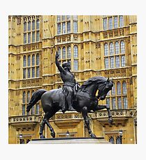 """LIONHEART"" London, England Photographic Print"