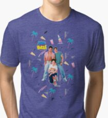Saved by the Bell Boys Tri-blend T-Shirt