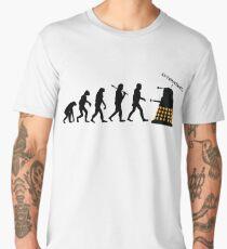 "Doctor Who Evolution - Dalek ""EXTERMINATE"" Men's Premium T-Shirt"