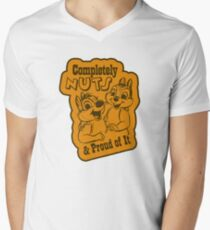 Completely Nuts and Proud of It Men's V-Neck T-Shirt