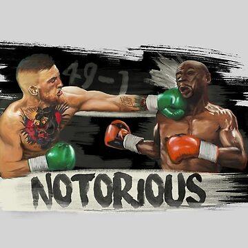 McGregor Mayweather Brushstroke KO by Undeniable