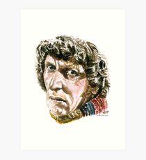 Tom Baker Art Print