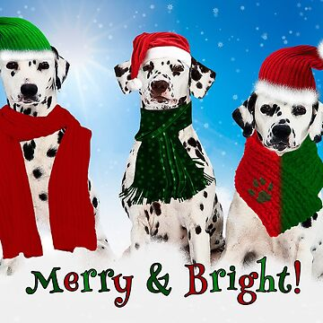 Holiday Snow Dogs!  by SalonOfArt