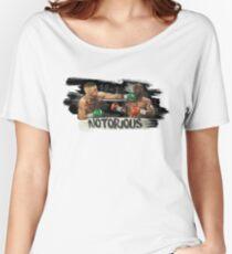 McGregor Mayweather Brushstroke KO Women's Relaxed Fit T-Shirt