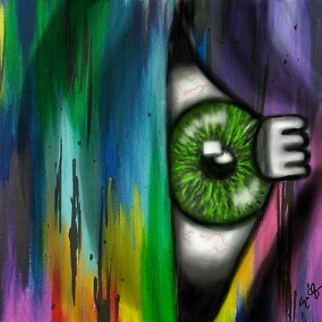 Eye Am The Peaker by TinaCruzArt1