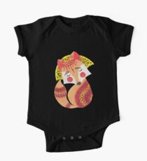 The Little Wolf One Piece - Short Sleeve