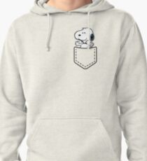 Pocket Snoopy Dog Pullover Hoodie
