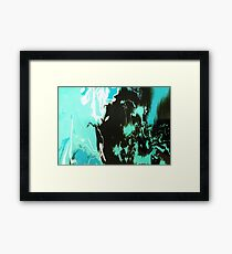 Light over darkness Framed Print