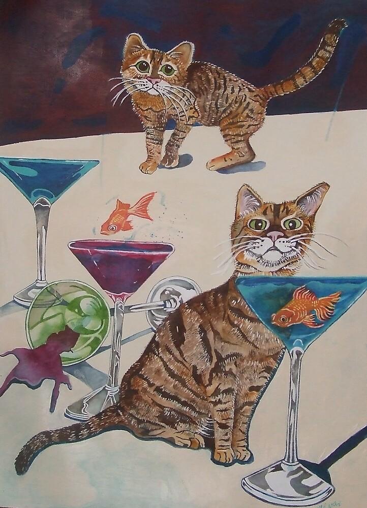 Cats & Cocktails by Megan Lane