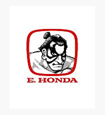 E Honda - Street Fighter Photographic Print