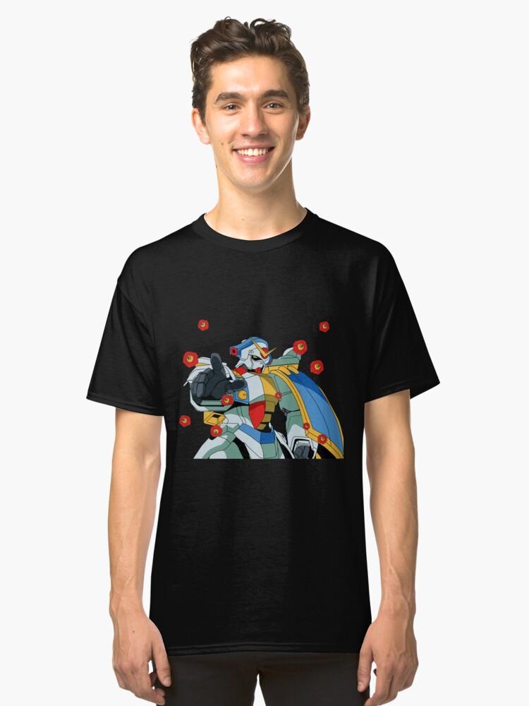 Gundam Rose Mobile Fighter G Gundam Classic T-Shirt Front