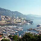 Monte Carlo - Port Hercule by Gino Iori