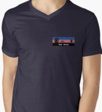 New Jersey Sunset V-Neck T-Shirt
