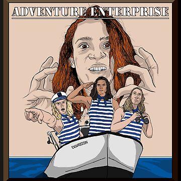 Adventure Enterprise Flag by EthanWilson98