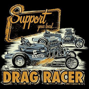 Support Local Drag Racer by huettemailly