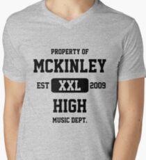 Property of McKinley High Music Department - Glee Men's V-Neck T-Shirt