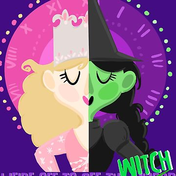 We're off to see the witch (wicked) by EleanorMorlino