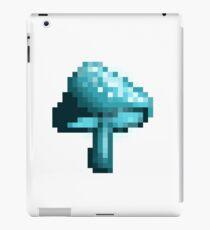 Glowing mushroom (turquoise) iPad Case/Skin
