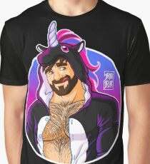 ADAM LIKES UNICORNS - DETAIL Graphic T-Shirt