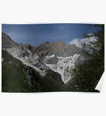 Carrara Mountains Poster