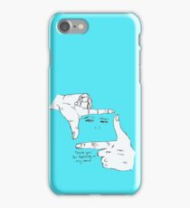 Thankyou for featuring in my movie iPhone Case/Skin