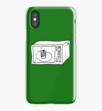 Baked beans in microwave iPhone Case