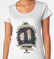 Oswald and Ed (Nygmobblepot) - Gotham Women's Premium T-Shirt
