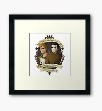 Kieren and Simon - In the Flesh Framed Print