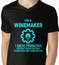 WINEMAKER - NICE DESIGN 2017 Men's V-Neck T-Shirt